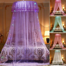 Romantic Mosquito Net Dome Hanging Bed Curtains Netting Canopy Room Decorations
