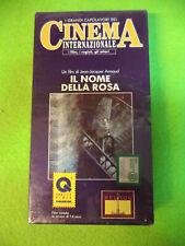 VHS film IL NOME DELLA ROSA Annaud SIGILLATA capolavori cinema ECO(F107) no dvd
