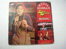 NAZIA HASSAN DISCO DEEWANE BIDDU ZOHEB  ROCK POP RARE BOLLYOOD LP record EX