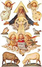 Postcard Paper Toy Doll Cut-Out Religious Characters, Animals, Symbols~108178