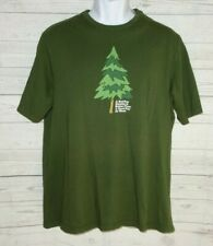 Eastern Mountain Sports T Shirt Men M Green Bad Day Outside Better than A Good