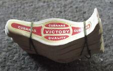 Vintage Lot of 100 Unused Cubanas Victory Brand Cigar Bands