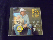 "~USED~ Ken Mellons ""WHERE FOREVER BEGINS"""