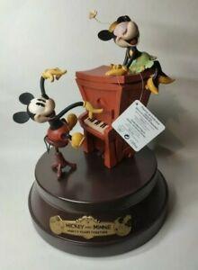 Édition Limitée Disney- Mickey Et Minnie Figurines Collector Disney