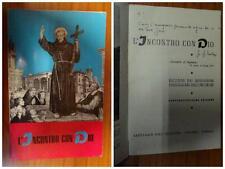 L'incontro con Dio – 24° edizione -  Autografo Don Giulio Facibeni