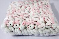 20pcs bulk 7.5cm mini rabbit bunny plush toy dolls stuffed wedding souvenir gift