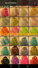 3 roll x 100 Y Sparkle Hologram Sequin Tulle Roll UK Seller Fast Shipping