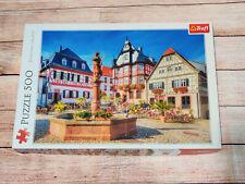 Market Square, Heppenheim, Germany 500 Piece Jigsaw Puzzle By Trefl
