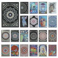 DIY Part Drill Diamond Painting Special Shaped 50 Page A5 Notebook Sketchbook