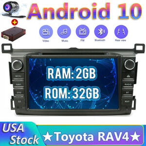 """8"""" Car Stereo For Toyota RAV4 2013~2017 Android 10.0 GPS Navigation Head Unit"""