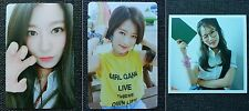 LOT of 3 PRISTIN RENA Official Postcard PHOTOCARD 2nd Mini Album SCHXXL OUT 레나