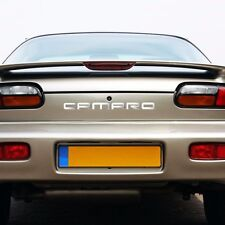 1993-2002 Chevy CAMARO Rear Bumper Vinyl Letters Chrome Inserts Stickers Trim