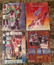 Michael Jordan & Dream Team July August 1992 Beckett Magazine & Upper Deck Lot