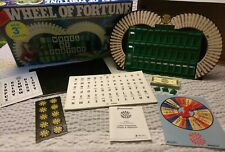 L@@K VINTAGE WHEEL OF FORTUNE BOARD GAME 3rd EDITION COMPLETE 1986 BOARDGAME