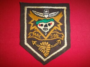 Vietnam War Hand Sewn Patch US 5th Special Forces Group MACV-SOG Team