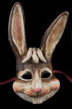 Masque de Venise Lapin Lievre en papier mache Collection Luxe 22283 V15