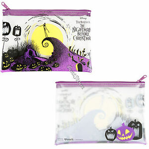 The Nightmare Before Christmas Jack Clear Pencil Case Cosmetic Tote Bag Disney