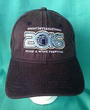Disney 2016 Epcot International Food and Wine Festival Baseball Hat NWT