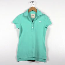 Hollister by Abercrombie Women's Polo shirt Green XS New with Tag