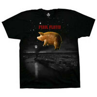 Pink Floyd T-Shirt Pigs Over London Animals New Authentic S-2XL.