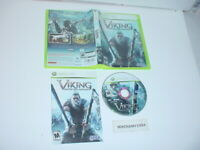 VIKING: BATTLE FOR ASGARD game complete in case w/ manual for Microsoft XBOX 360