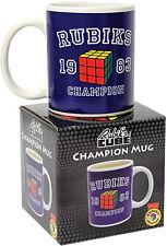 31605 RUBIKS CHAMPION MUG 1983 CUBE CUP RUBIX PUZZLE GIFT
