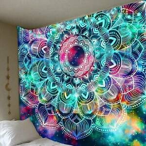 Wall Hanging Tapestry Sofa Home Decor Poster Hippie Bohemian Mandala Yoga Mat