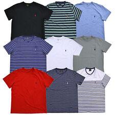 Polo Ralph Lauren Camiseta Masculina logotipo Pônei Bolso Gola Careca Pp P M G GG GGG Nova com etiquetas