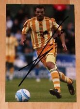 XISCO NEWCASTLE UNITED PERSONALLY HAND SIGNED AUTOGRAPH PHOTO