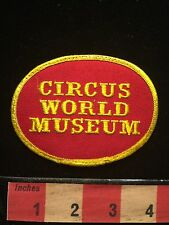 CIRCUS WORLD MUSEUM State Of Wisconsin Patch 676