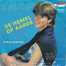 7inch MARIO de hemel op aarde HOLLAND 1982 EX+ (S3462)