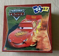 "24 piece Disney Pixar The World of CARS Rust-eze 3-7 yrs 10"" x 13"" Mattel"