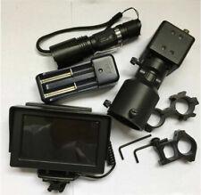 "Day Night Use DIY Night Vision Scope Digital Camera + 4.3"" LCD Screen IR Torch"
