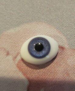 Global 12mm Violet Glass Flat Eyes