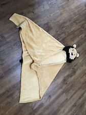 Childs Hooded Lion Blanket
