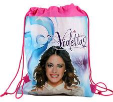 Violetta 2 Girls Children Cartoon Bag Drawstring Backpack Kids School Bags:26F