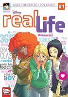 Real Life manga volumes 1-2 english paperback graphic novel disney new