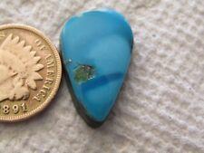 Sleeping Beauty Turquoise Cabochon 9.9 carat  Blue Arizona Cab