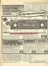 Amstrad 9060 Car Stereo Radio 1979 Magazine Advert #717