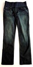 Indigo, Dark wash Under Bump Denim Maternity Jeans