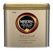 Gold Blend NESCAFÉ  Coffee Tins 750g, GB 750g Case and Tin rates Rich and Smooth