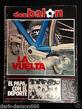 DON BALON 446 VUELTA CICLISTA ESPAÑA-BARCELONA-ESPAÑOL- VALLADOLID-SIMONSEN ETC