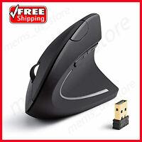 2.4G Wireless Vertical Ergonomic Optical Mouse, 800 / 1200 /1600DPI like Anker