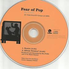 Ben Folds FEAR OF POP w/ WILLIAM SHATNER In Love RARE REMIX PROMO DJ CD single