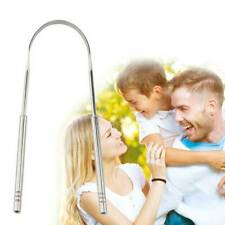 Stainless Steel Tongue Scraper Clean Dental Oral Hygiene Care Tools