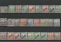 Wertvolles Lot Briefmarken Ungarn ab 1920 gestempelt + ungestempelt 27 Werte