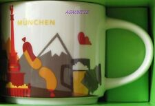 New Starbucks You Are Here Coffee Cup Munich München (Germany City) Mug 14oz.