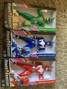 Power Rangers - 3 X Mighty Morphin Power Ranger 9 inch action figures BNIB