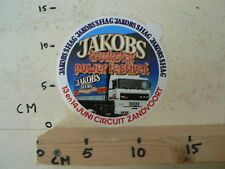 STICKER,DECAL DAF 3600 ATI JAKOBS TRUCKSTAR POWER FESTIVAL SHAG ZANDVOORT B