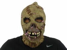 Evil Nightmare Maggot on the Face Devil Latex Mask